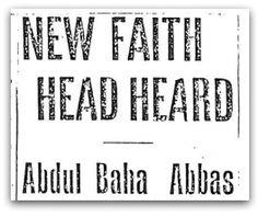 New Faith Head Heard