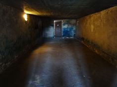 Gas Chamber Interior - Majdanek Concentration Camp - Lublin - Poland - 4 July 2013.