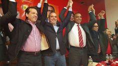 awesome Abinader da el espaldarazo que esperaban los candidatos Carlos Gómez y Cirilo Moronta