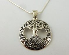 Check out our tree of life selection for the very best in unique or custom, handmade pieces from our pendants shops. Tree Necklace, Gemstone Necklace, Black Faux Leather, Leather Cord, Celtic Knot, Copper Wire, Labradorite, Wire Wrapping, Etsy