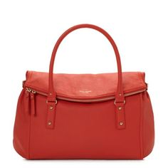 I am on the lookout for an orange bag--I hope this one shows up on the online sample sale soon.
