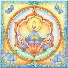 Mandala's tekenen met Hannie de JongPicture 59 « | Kolams
