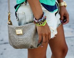 Marc Jacobs + arm candy