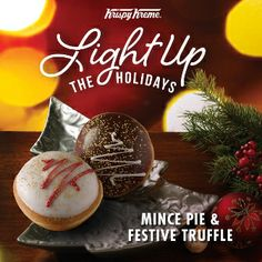 Krispy Kreme does it again! Fabulous festive treats...