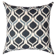 Burma Ikat Decorative Feather/ Down Filled Throw Pillows (Set of 2) - Overstock Shopping - Great Deals on Throw Pillows
