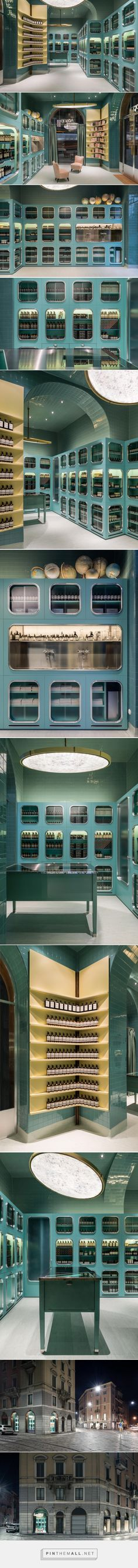 aesop by dimore studio references italian bottegas in milan - created via https://pinthemall.net