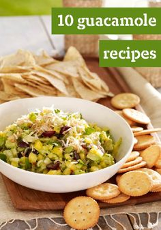 10 Guacamole Recipes -- Creamy, fresh avocados take the lead in the classic Mexican appetizer, guacamole. Whether you're looking for the classic or want to try something different, you'll find the perfect guacamole recipe right here.