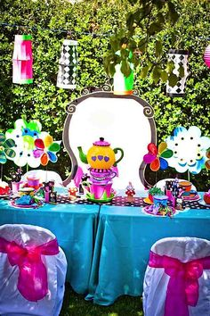Mad Hatter Tea Party - Kara's Party Ideas - The Place for All Things Party