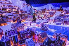 The world's largest gingerbread city is now open in Bergen! Go to Sentralbadet for a miniature version of Bergen, the Eiffel Tower, a railroad and many, many more creative gingerbread houses. The houses are all made and donated by local schools, kindergartens and genuine gingerbread enthusiasts. ⠀ #fjordnorway #visitnorway #pepperkakebyen #visitbergen #almostchristmas #gingerbread( #📷 @bergenfoodtours via @latermedia )