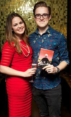 Giovanna Fletcher wears LittleBlackDress.co.uk for book launch!