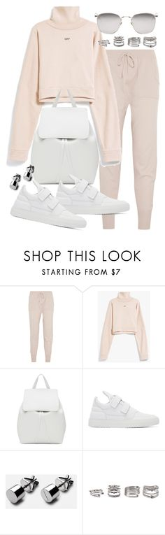 """""""Untitled #20477"""" by florencia95 ❤ liked on Polyvore featuring Eres, Mansur Gavriel, Filling Pieces, Forever 21 and Linda Farrow"""