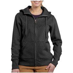 Women's Carhartt® Clarksburg Full-zip Hooded Sweatshirt