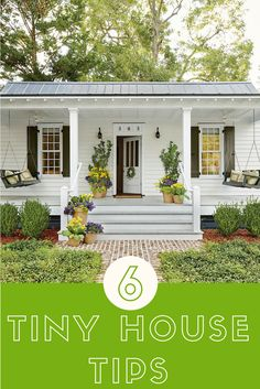 Living in a tiny house doesn't mean you have to give-up style.