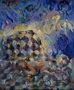 Como un sueño, óleo-lienzo, 73x60 cm.