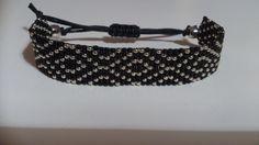 Handgeweven kralenarmbandje / Loom beaded bracelet door Suusjabeads