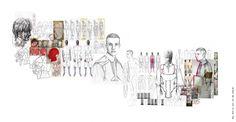 New Fashion Design Development Finals Ideas Fashion Model Sketch, Fashion Sketches, F Pictures, Fashion Design Portfolio, Black And White Posters, Fashion Wallpaper, Fashion Sketchbook, Fashion Collage, Flower Aesthetic
