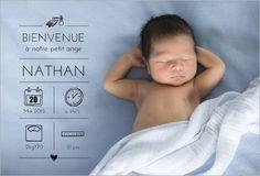 Faire-part de naissance garçon : Personnalisez votre faire-part de naissance…