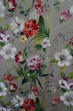 2aaed0cdd1c Osborne and Little lovely floral Osborne And Little Wallpaper, Textile  Prints, Textile Patterns,