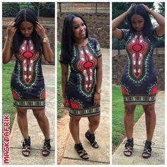 Black dashiki #magkoafrik