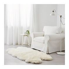IKEA - SKOLD, Sheepskin, Wool is soil-repellent and durable.
