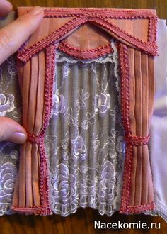 how to: lace sheer curtains