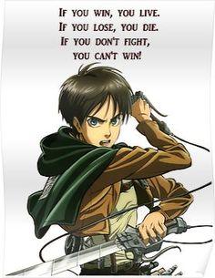 Eren - Attack on Titan Erin Attack On Titan, Attack On Titan Tattoo, Attack On Titan Funny, Attack On Titan Anime, Levi X Eren, Armin, Jikook, Anime Qoutes, Eremika