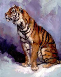 Joe Weatherly Fine Art: TIGERS