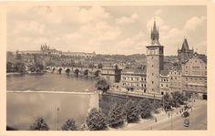 B3735 Czech Republic Prag Praha Passerelle Avec LE Chateau DE H Front Back Scan | eBay