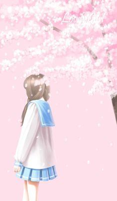 Cartoon Girl Images, Cute Cartoon Girl, Cartoon Art, Girly Drawings, Anime Girl Drawings, Sad Anime Girl, Anime Art Girl, Korean Illustration, Lovely Girl Image