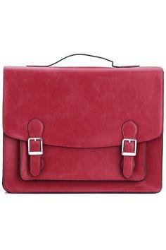 Fold Over Laptop Red Bag    $133.90     I WAAAAAAAAAAAAANT!!!