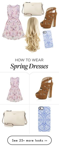 """""""Spring Baby"""" by justjuju21 on Polyvore featuring River Island, Kate Spade and Uncommon"""