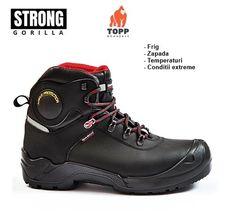 Bocanci cu membrana WindTex protectie S3 WR izolare talpa -17 Hiking Boots, Shoes, Fashion, Walking Boots, Moda, Shoes Outlet, Fashion Styles, Shoe, Footwear