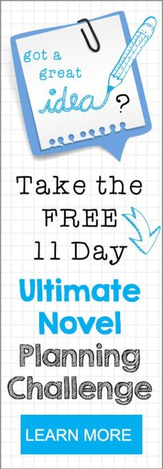 Learn how to plan a novel in 11 days, completely free! Worksheets included. #amwriting