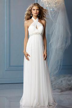 22 best Halter Style Wedding Dresses images on Pinterest | Wedding ...