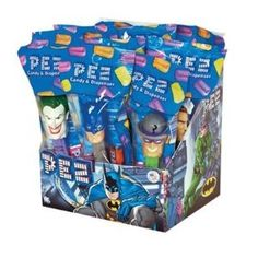 Batman Party Favors - Pez Candy & Dispenser