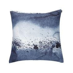 Give your living room a vivid look with Luovi cushion cover designed by Aino-Maija Metsola for Marimekko. The cushion cover is made of pure linen and has a trendy sea air splash pattern inspired by the ocean´s unpredictable energy. Use the cushion cover for the sofa or chair and match it with other trendy textiles from Marimekko for a personal mix! Choose between different colors.
