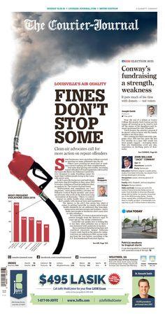 The Courier-Journal 10/25/15 via Newseum