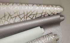 Folia Wallpaper Collection (source Romo) / Wallpaper Australia / The Ivory Tower -like the offwhtie and gold print. Painting Wallpaper, Fabric Wallpaper, Metallic Wallpaper, Romo Wallpaper, Wallpaper Designs, Wallpaper Ideas, Romo Fabrics, Upholstery Fabrics, Home Reno