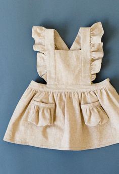 Handmade Toddler Pinafore Dress | blytheandreese on Etsy