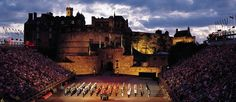 Edinburgh and The Military Tattoo