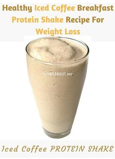 Low in calories, high in protein, and the perfect morning drink and weight loss!