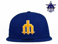 NEW ERA x MLB 「Seattle Mariners 1979 All-Star Patch」59Fifty Fitted Baseball 740a6b3e7aa5