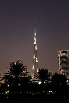 Burj at night! by Rahul Bakshi - Clicked from Al Safa park Click on the image to enlarge.