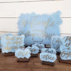 handpainted acrylic wedding signs and wooden wedding signs and farmhouse wall art Wedding Ceremony, Our Wedding, Dream Wedding, Reception, Wedding Things, Wedding Table, Garden Wedding, Wedding Gifts, Wedding Venues