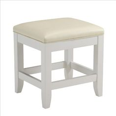 Home Styles 5530-28 Naples Vanity Bench - http://www.furniturendecor.com/home-styles-5530-28-naples-vanity-bench-white-finish/