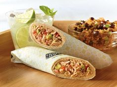 Hooked on Tuna Burrito. Did you know that take out burritos contain 1000 - 1200 calories? This lower calorie 'Hooked On Tuna Burrito' recipe is only 310 calories! Tuna Recipes, Seafood Recipes, Cooking Recipes, Recipies, Healthy Snacks, Healthy Eating, Healthy Recipes, Yummy Recipes, Recipes