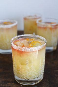 Fizzy Mezcal Margarita