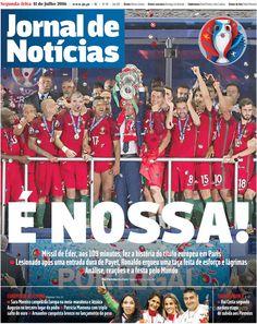 Das lágrimas de tristeza às lágrimas de alegria, a comunicação social estrangeira destacou o espectro de emoções experimentadas pelos portugueses na noite em que Portugal se tornou campeão europeu.