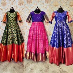 Kalamkari Dresses, Ikkat Dresses, Long Gown Dress, Saree Dress, Lehenga Skirt, Long Frock, Kids Dress Wear, Party Wear Dresses, Wedding Dresses