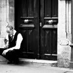 Pondering during the workday in Paris....
